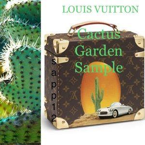 """🆕LOUIS VUITTON"""" Cactus 🌵Garden Sample"""